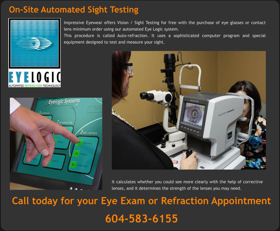Desjardins Auto Insurance >> Eye exams by Optometrist | Vision and Sight Testing | Eye health Care | Impressive eyewear Surrey